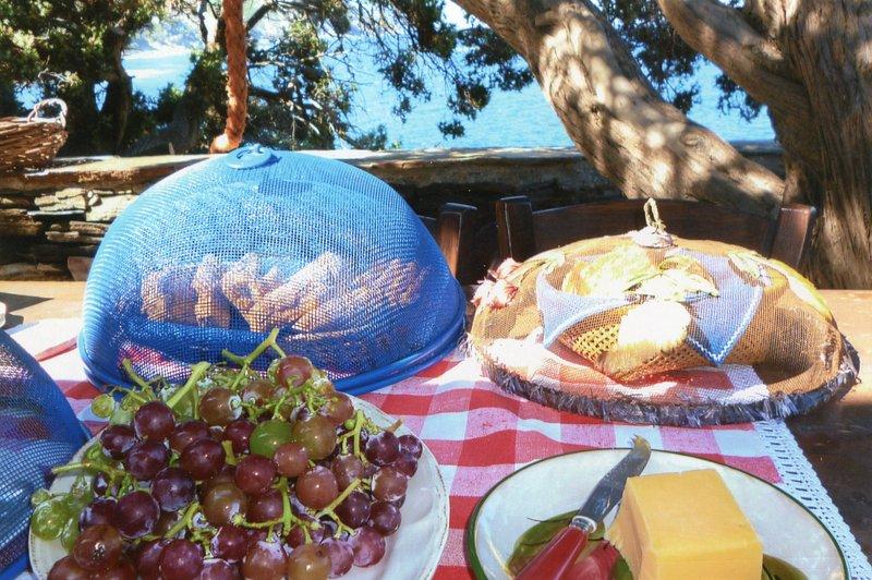 comedor al aire libre