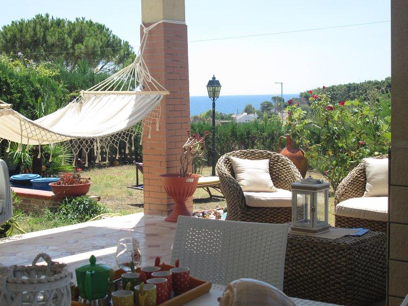 sea view garden