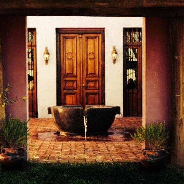 Casa de campo de 320 mts cuadrados se reserva en su totalidad . Campo 32 hc, alquiler de vacaciones en San Antonio de Areco