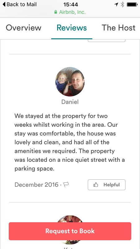 Review from other sites I use