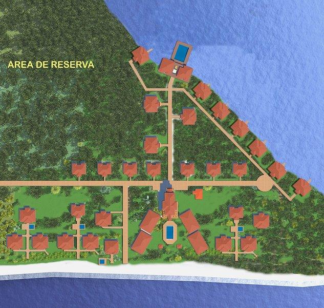 junto a la playa alquiler de vacaciones en Utila Caribe