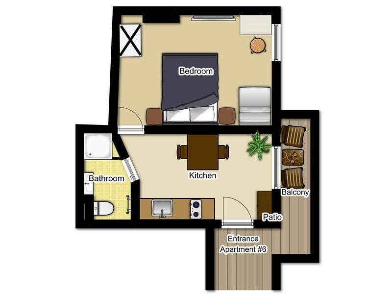 Apartments Markez, One-Bedroom apartment