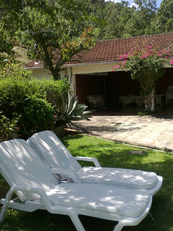 garden and pool property