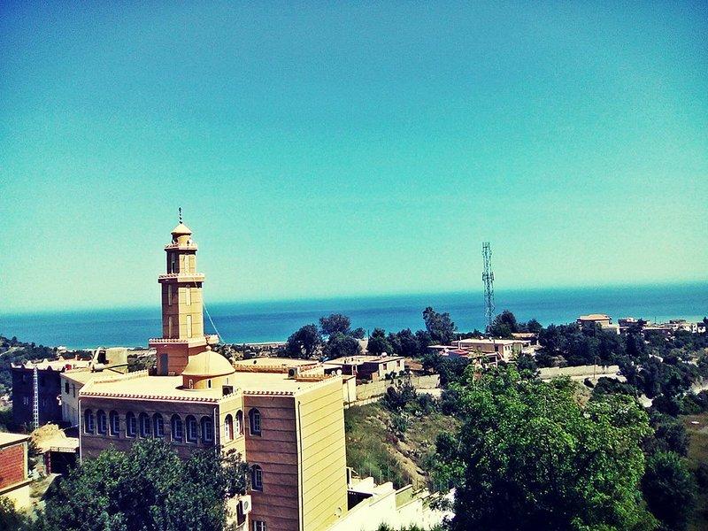 Superbe Appartements F3 - Avec Vue Panoramique Sur Mer & Montagne, alquiler vacacional en Argelia