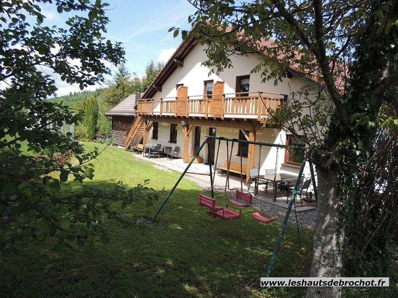 Le Daim au environs du Ballon d'Alsace, holiday rental in Bussang