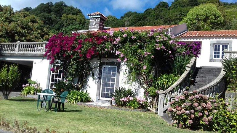 Rustic Villa Azores. Airbnb for 8 to 10 persons located in Vila Franca do Campo, São Miguel