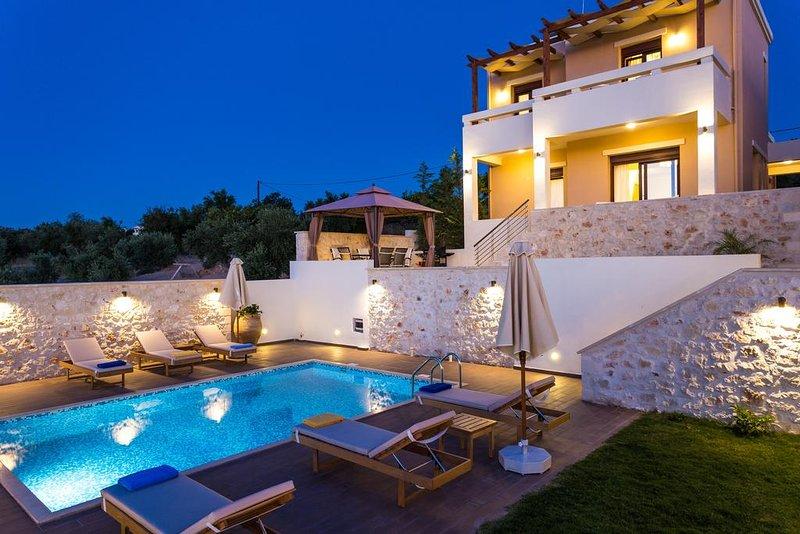 Roupis Seaview Villa, Roupes Rethymnon, alquiler de vacaciones en Pikris