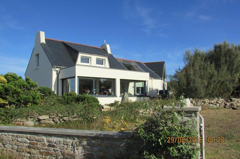 A casa mais ocidental da França continental