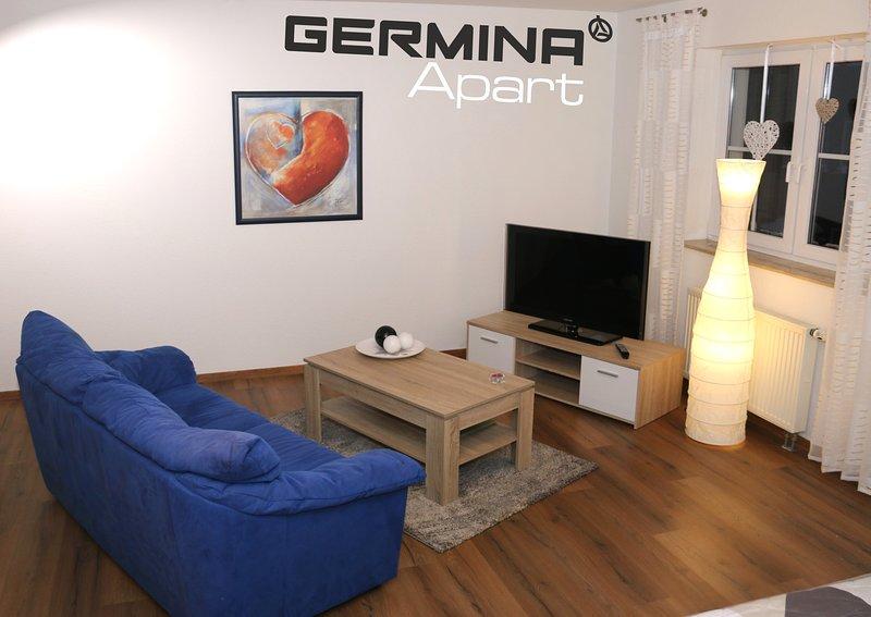 GERMINA Apart 1.2 - Ferienwohnung inkl. WLAN - DIREKT in Oberhof - 1.Etage, vacation rental in Oberhof