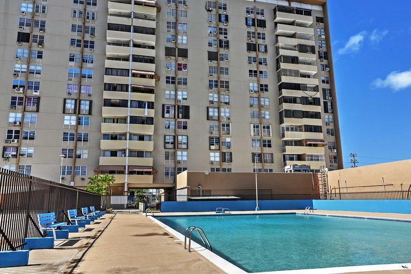 Enjoy a refreshing swim in the community pool.