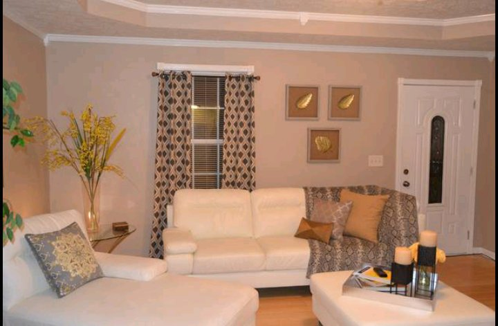 Our elegant white living room gives you the most comfortable feeling. Enjoy with family and friends.