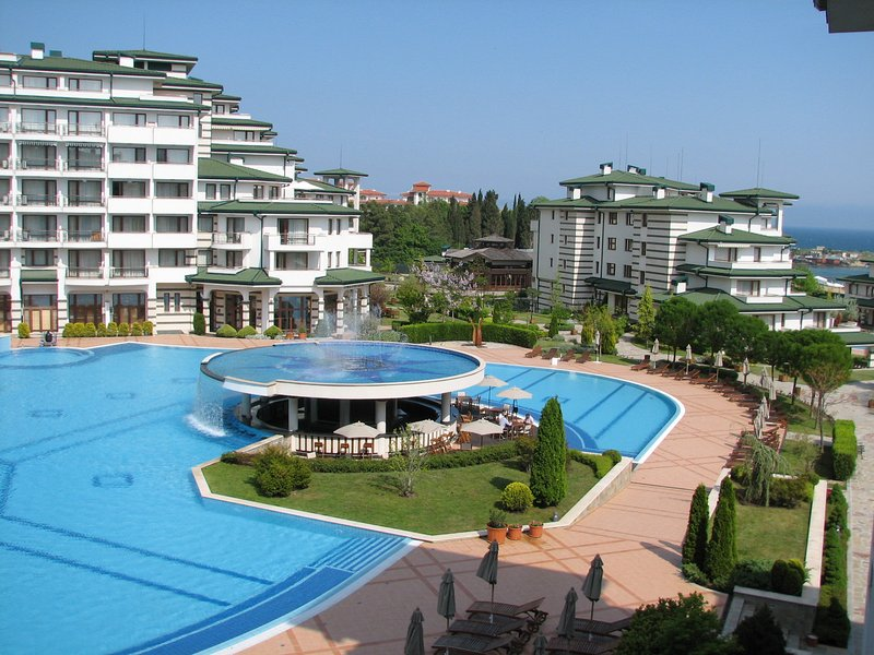 One bedroom sea-view apartment in 5 star spa resort, holiday rental in Ravda