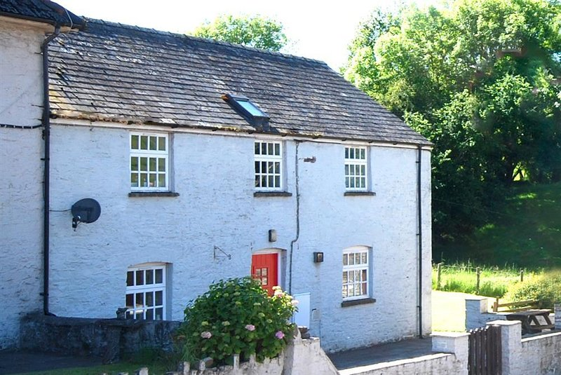 Danycrug is a semi-detached farmhouse with this accommodation to let on the first floor