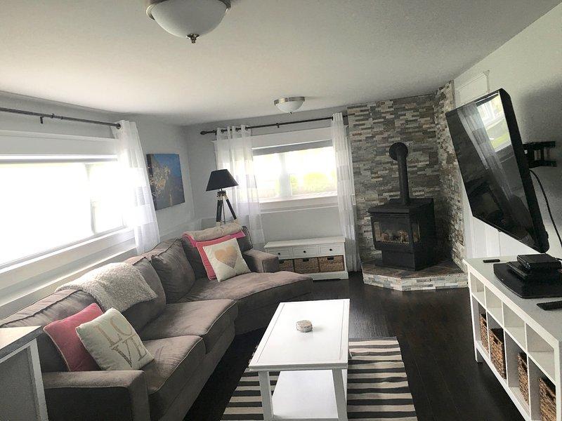 nível inferior sala de estar