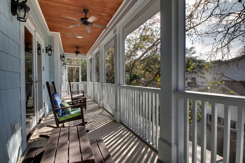 Lower Deck Off of The Living Room, Great Views!