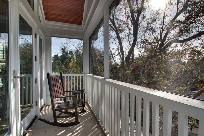 Screened In Porch Off of Master Bedroom