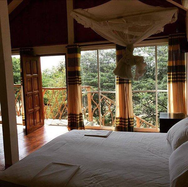 Las habitaciones dobles de lujo cabaña con vistas al mar