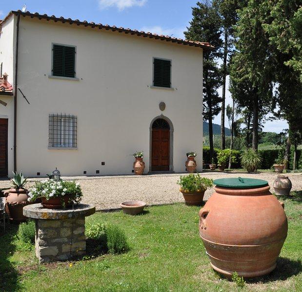 Villa La Tinaia, alquiler vacacional en Sieci