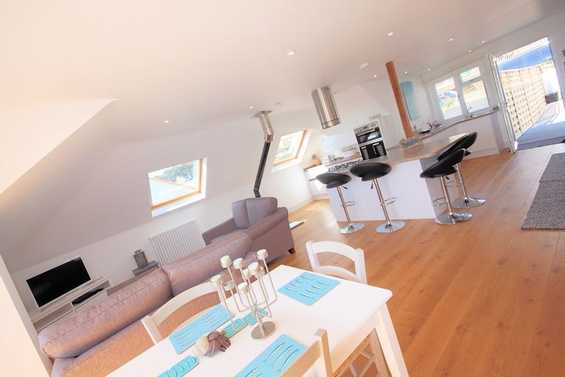 Marine View Woolacombe Holiday Cottages Contemporary Kitchen