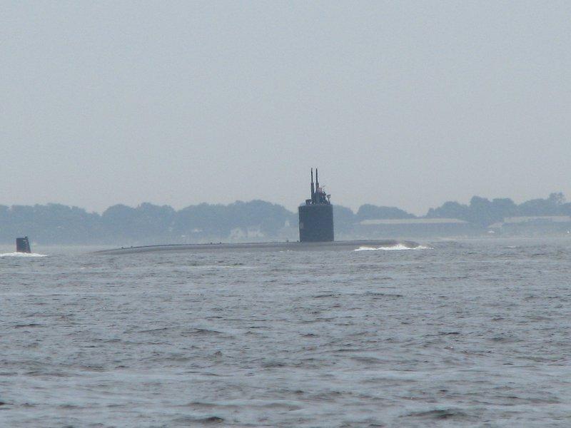 Si vous êtes chanceux, vous pourriez même attraper un aperçu d'un sous-marin!