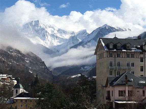Studio Vue sur la Vanoise et le Grand Bec, alquiler de vacaciones en Brides-les-Bains