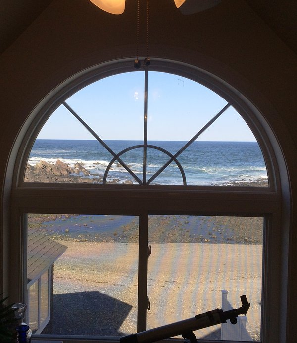 Master Bedroom View #perkinscovecottage