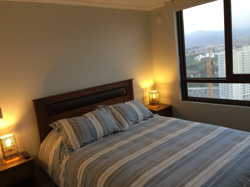 Cómodo Apartamento exclusivo Condominio Jardin Del Mar, holiday rental in Coquimbo