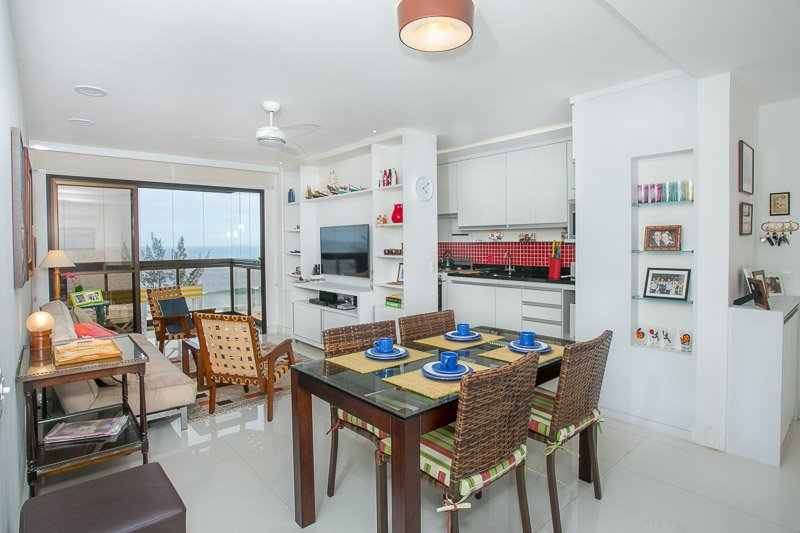 Modern and functional, The apartment is fully equipped to meet every guest's expectations