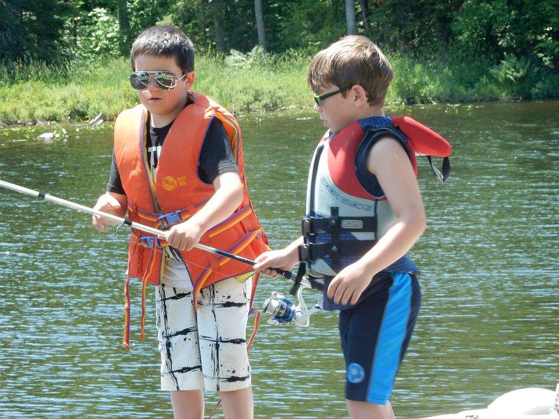 Derby de pesca para los más jóvenes.