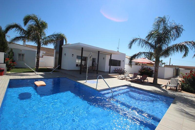 casa José con piscina privata