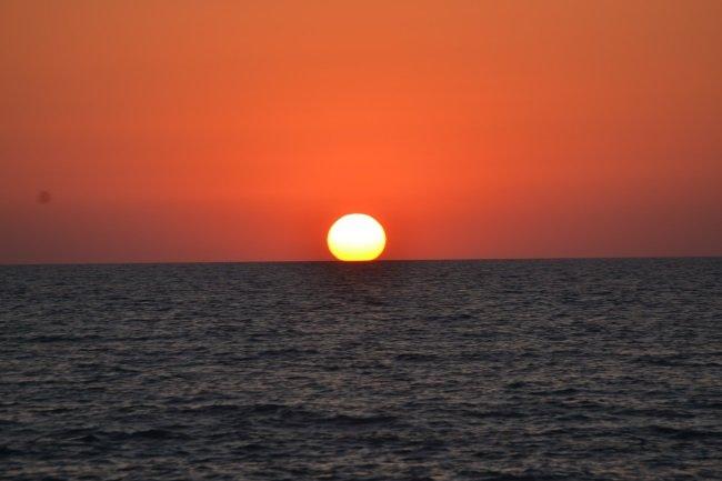 Sunset in Latchi