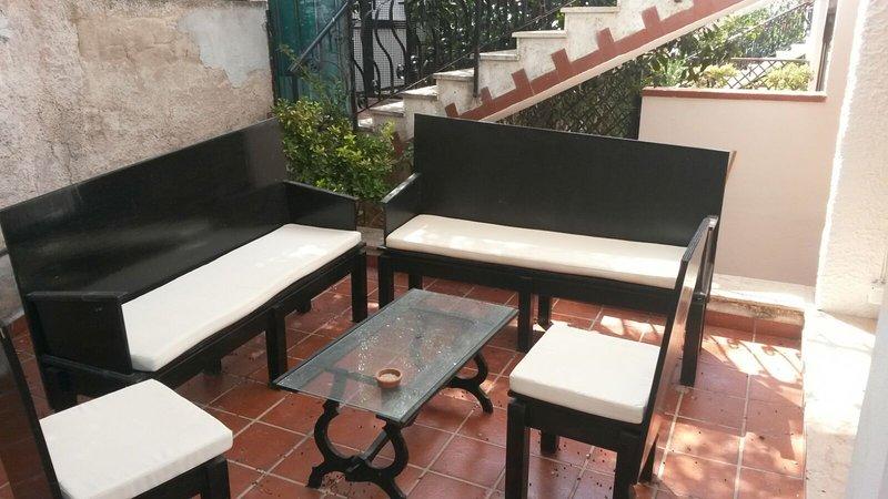 Cinzia's corner in Mondello, vacation rental in Raffo