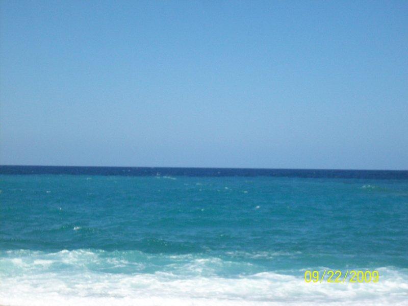 The beautiful Cretan seas
