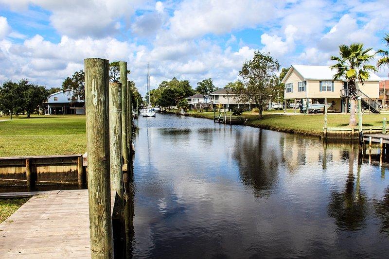 Waterfront Vacation Home Rental, alquiler vacacional en Bay Saint Louis