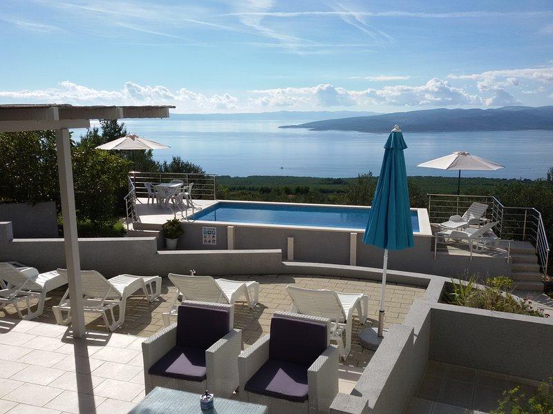 Blue Horizon Villa Baška Voda, casa vacanza a Baska Voda