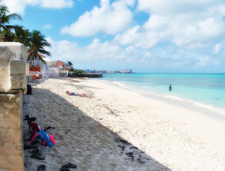 Public Beach - Four minutes walk from Property