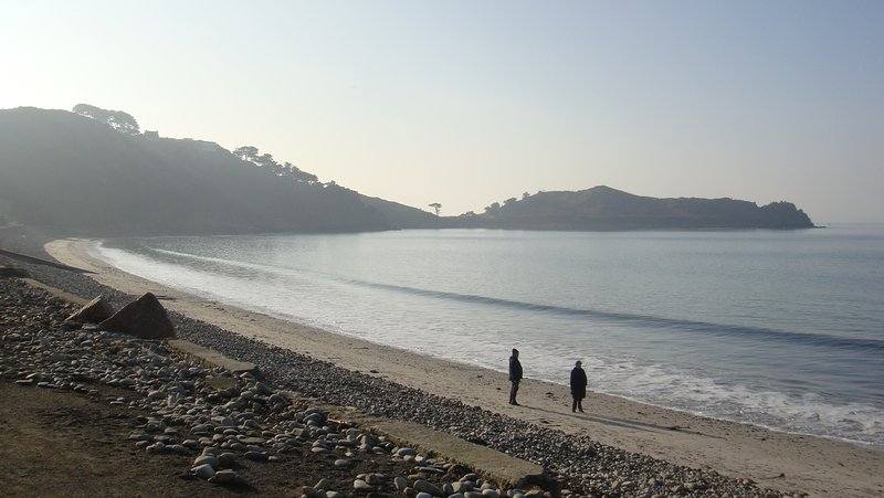 Grande plage tresmeur