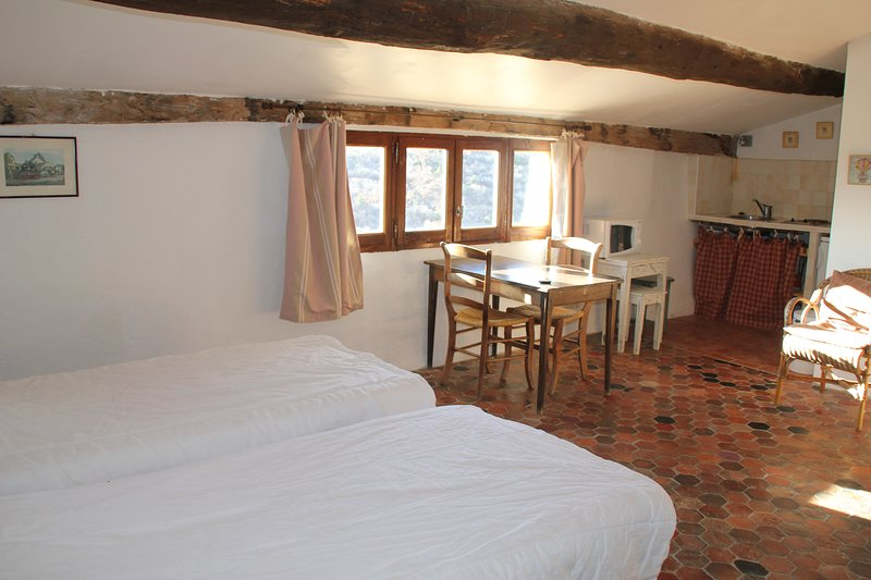 Grand Studio dans Les Remparts, vacation rental in Oppedette