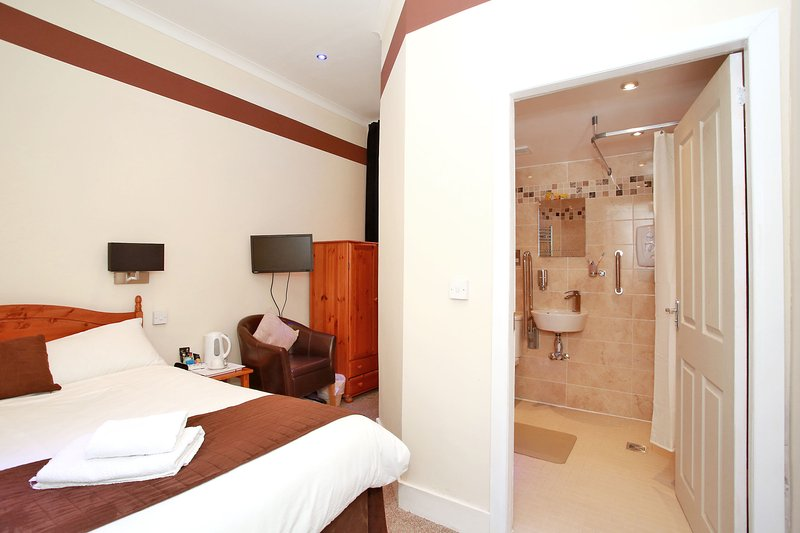 Ground Floor double en-suite room.