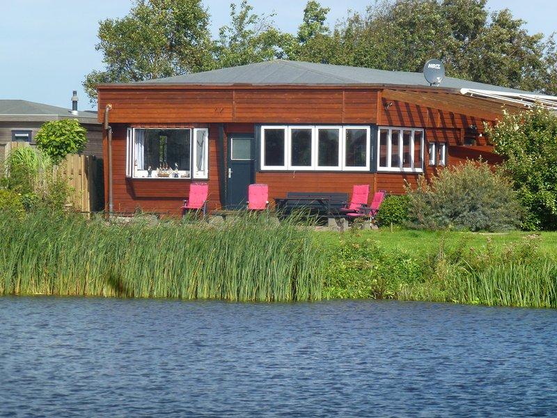 8 pers. Ferienhaus in Oostmahorn direkt am Lauwersmeer Haus 'Capitein Theis', Ferienwohnung in Anjum