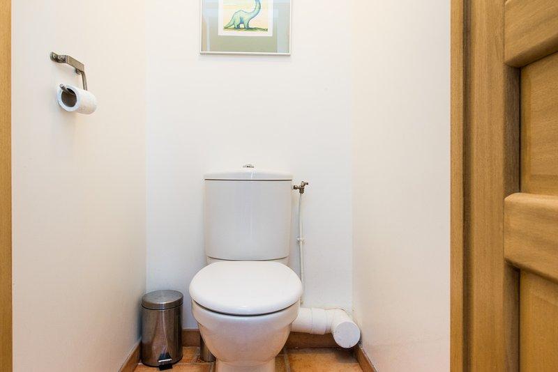 Belvedere - 2. separates WC