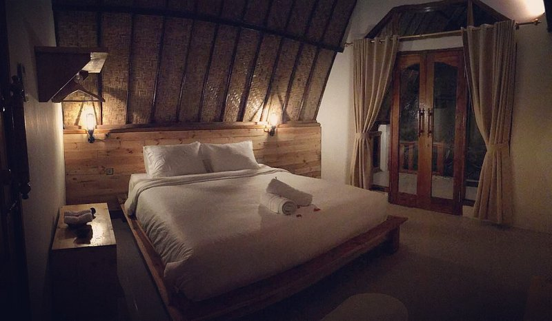 The Room with king size bed