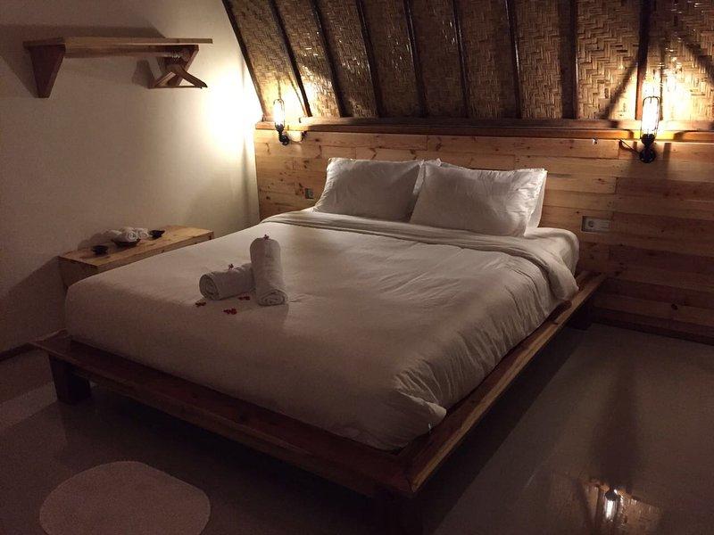 De Kamer met kingsize bed