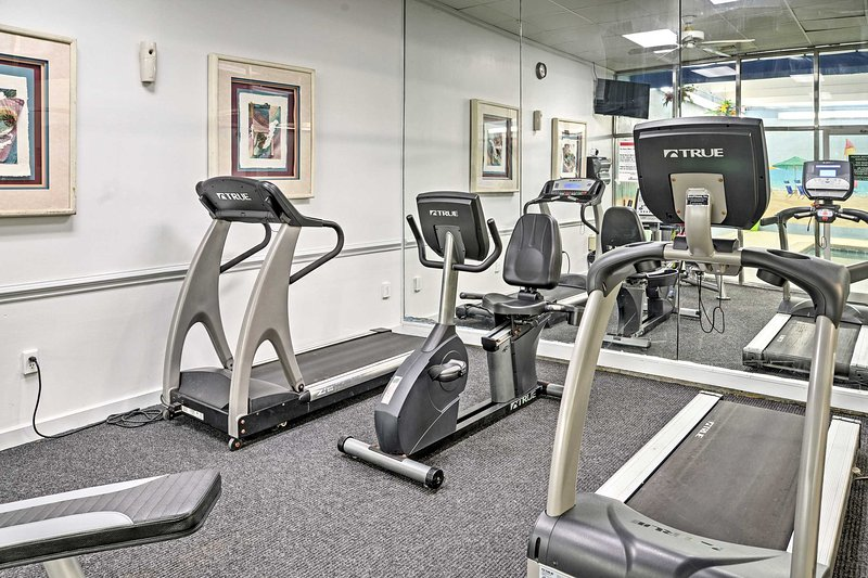 Mantenetevi in forma nella comunità sala fitness!