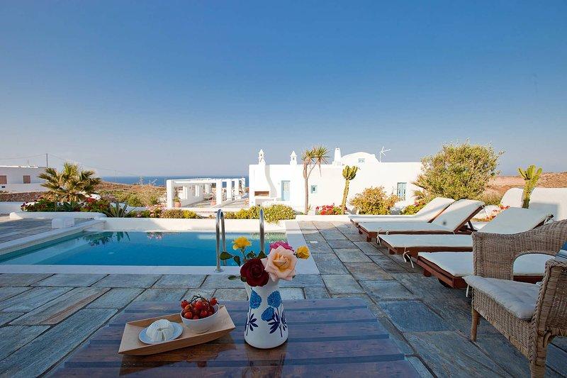 Guest House Skiron, location de vacances à Vourvoulos