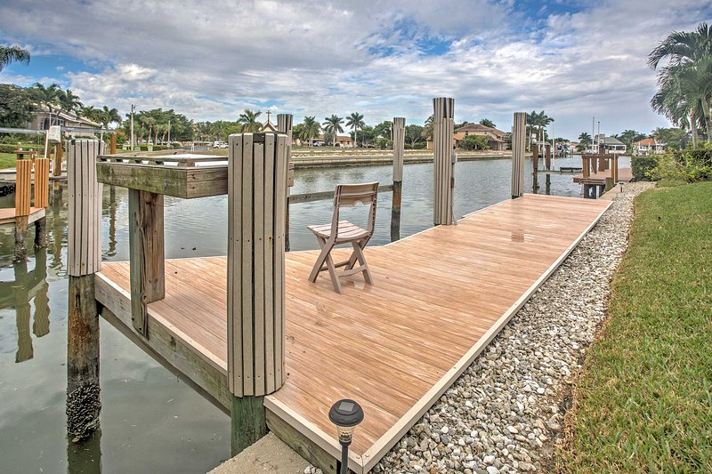 It doesn't get better than this outstanding Marco Island vacation rental!