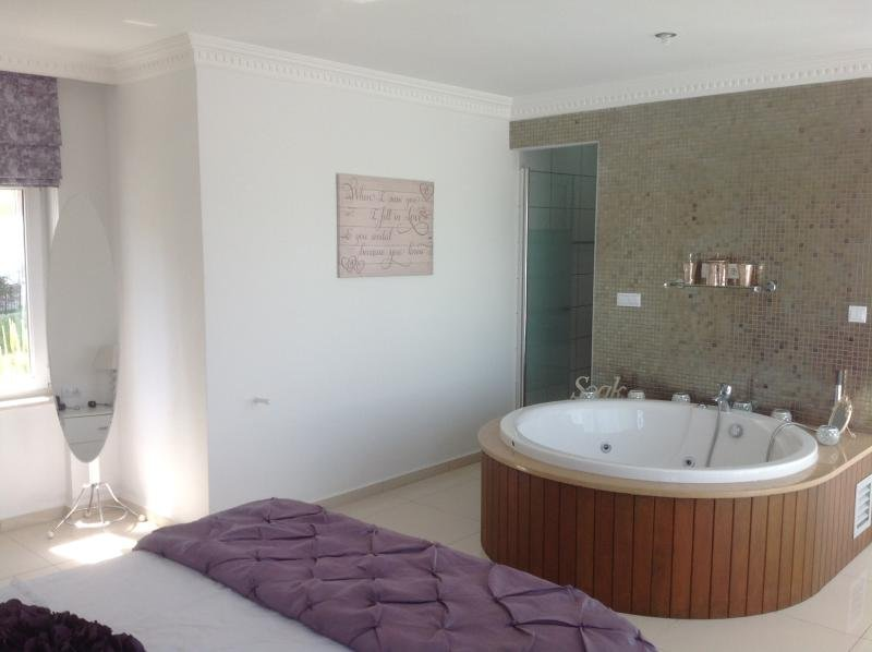 Master Bedroom with Jacuzzi