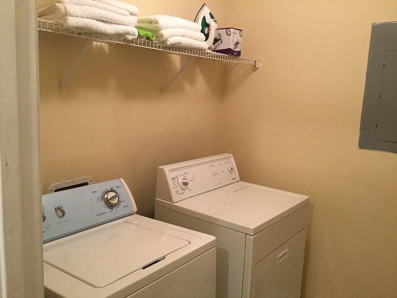 Clean Washer & Dryer