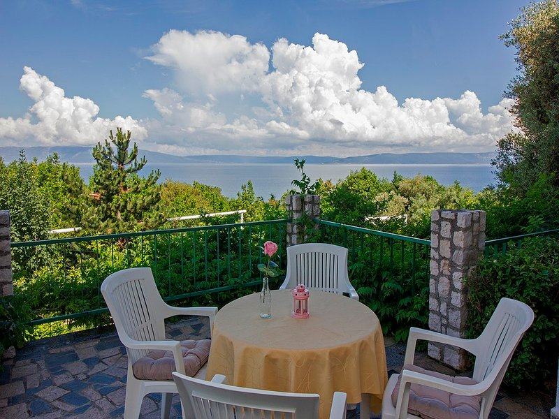 Gorgeous view, close to the beach,pets welcome 33, holiday rental in Labin