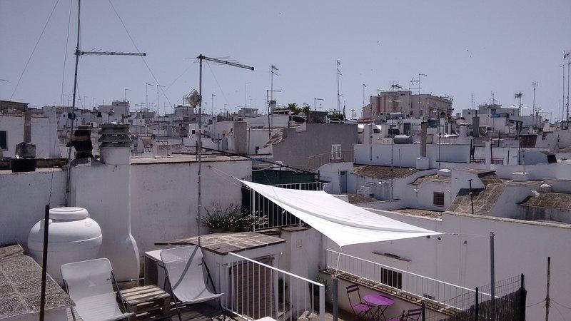 En realidad hay dos terrazas !!!